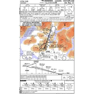 IFR Chart single Airport