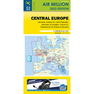 Deutschland Air Million Karte VFR