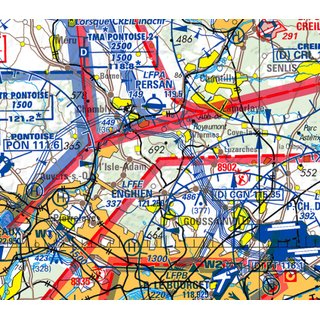 Flight Planner / Sky-Map - ICAO Charts France